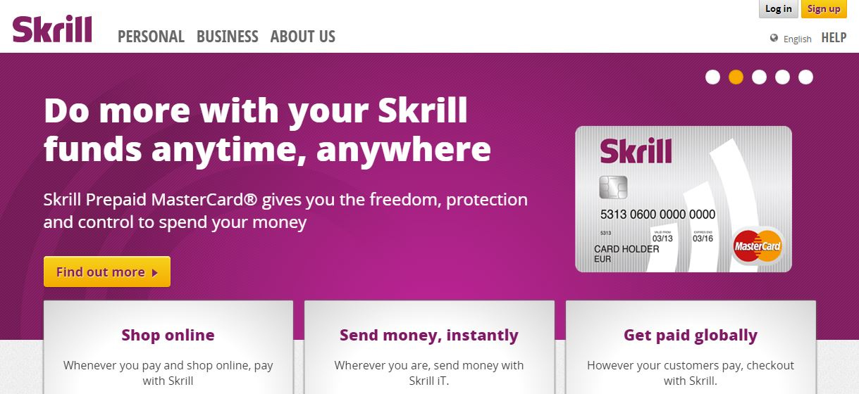skrill to skrill transfer fee