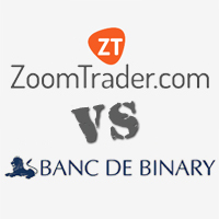 ZoomTrader vs Banc De Binary Broker Comparison