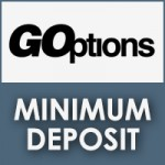 GOptions Minimum Deposit Review