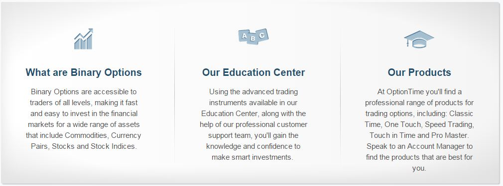 OptionTimeAccount-education