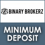 Binary Brokerz Minimum Deposit