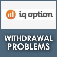 IQ Option Withdrawal Problems