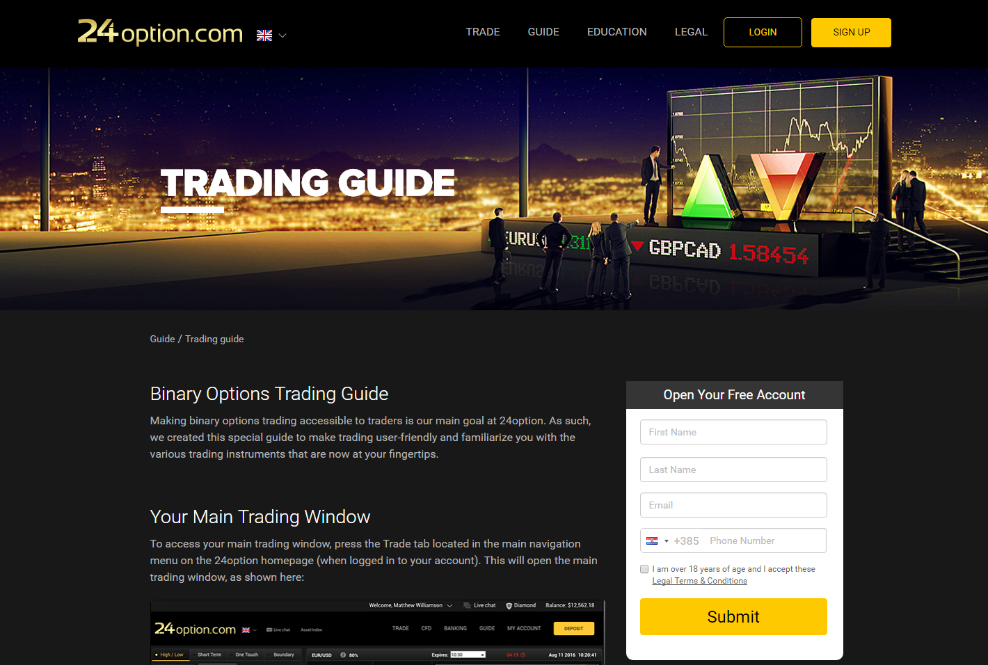 Binary options brokers usa 2015