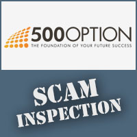 500option Scam Inspection Reivew