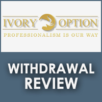 Ivory Option Withdrawal Review