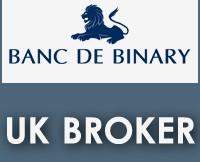 Banc De Binary UK Broker