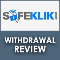 SafeKlik Withdrawal Review