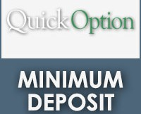 Quick Option Minimum Deposit