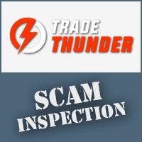 TradeThunder Scam Inspection