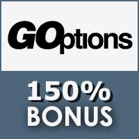 GOptions 150% Bonus