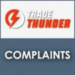 TradeThunder Complaints