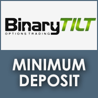 BinaryTilt Minimum Deposit