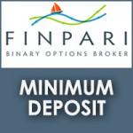 Finpari Minimum Deposit