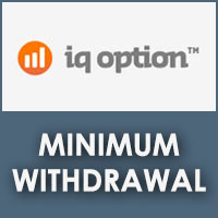 Iq option minimum withdrawal visa