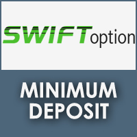 SwiftOption Minimum Deposit