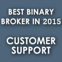 Best Binary Broker In 2015 - Customer Support