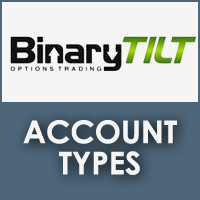 BinaryTilt Account Types