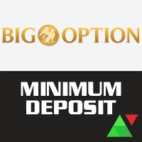 BigOption Minimum Deposit
