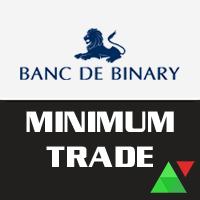 Banc De Binary Minimum Trade