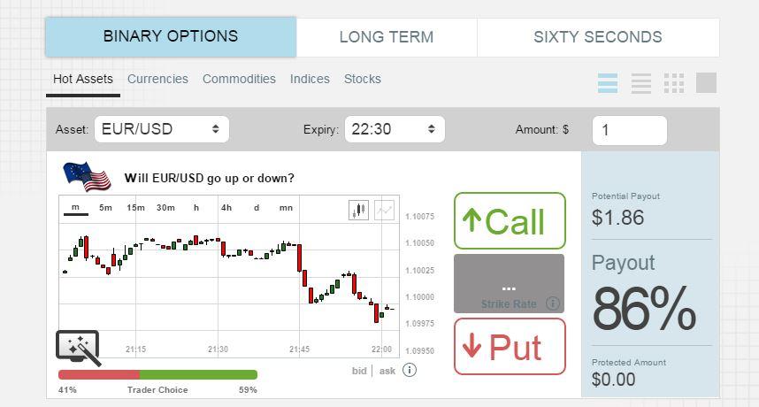 Option FM Trading Platform Classic
