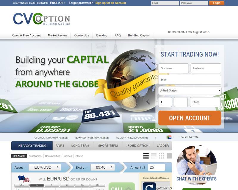 CVCoption Home Page