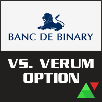 Banc De Binary vs. Verum Option