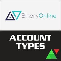 BinaryOnline Account Types