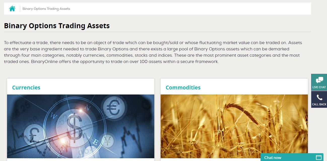 BinaryOnline Assets