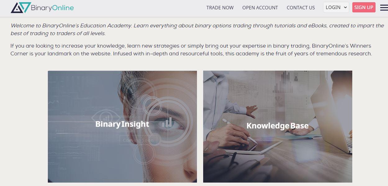 BinaryOnline Trading Academy