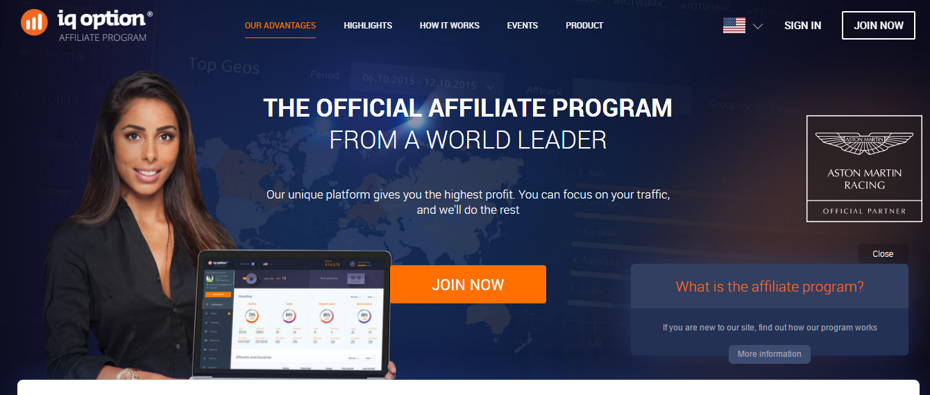 Options trading affiliate programs