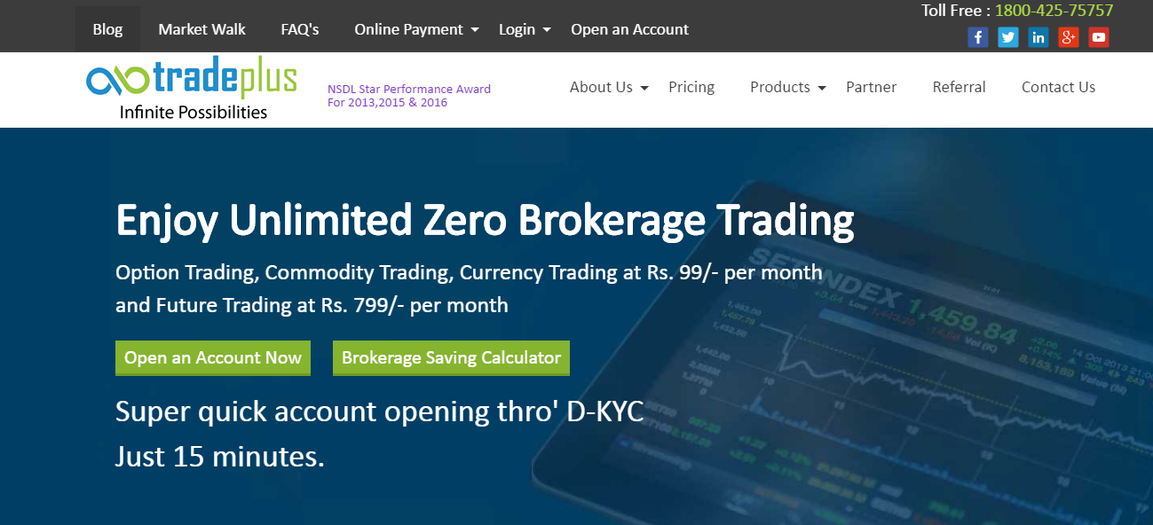 Tradeplus Home Page