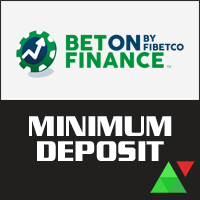 BetOnFinance Minimum Deposit