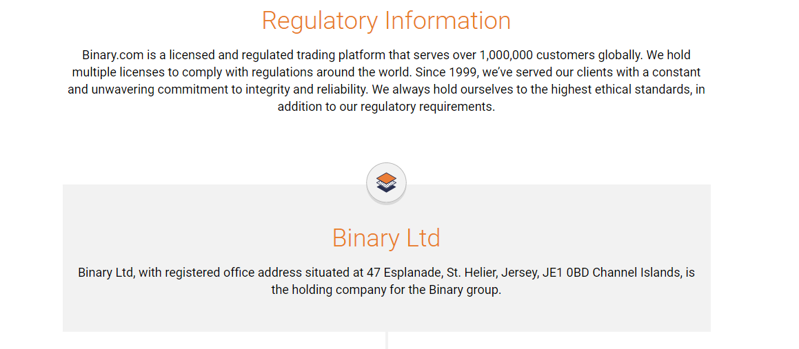 Binary.com Regulation