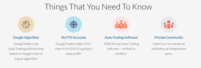 Google Trader Features