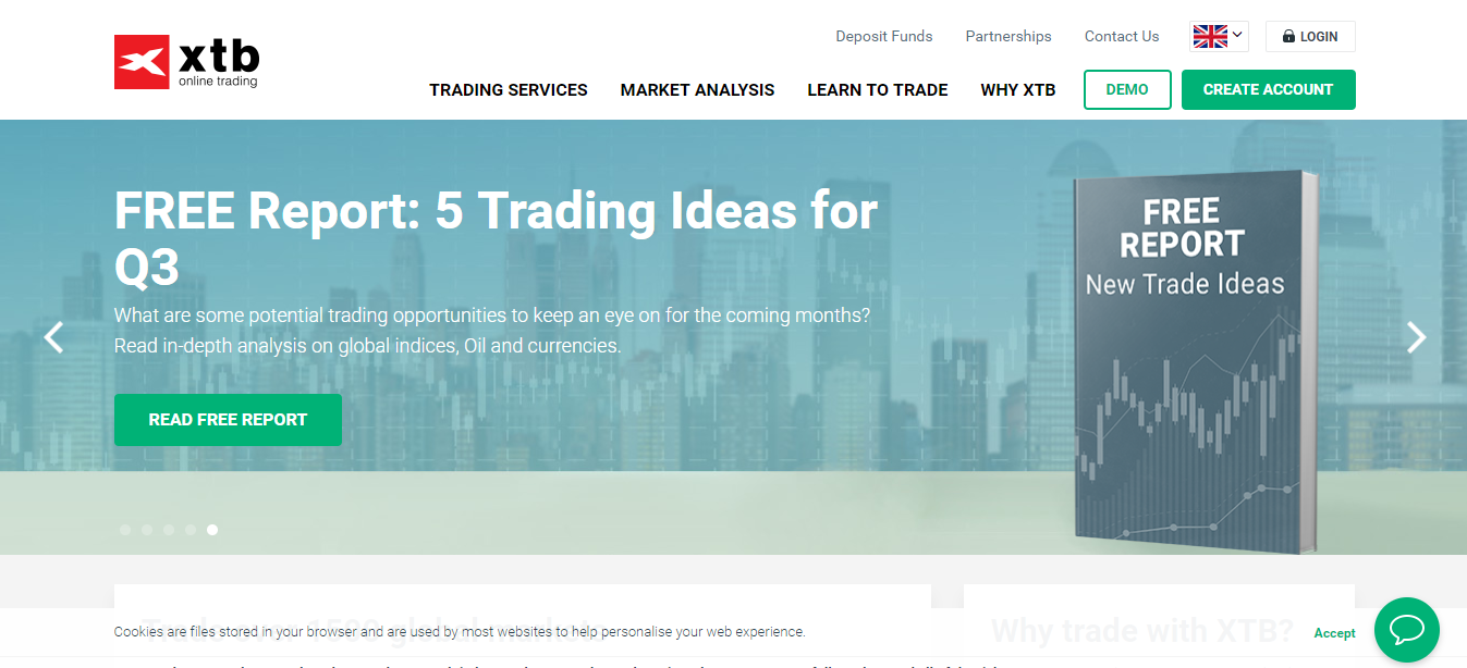 XTB Home Page
