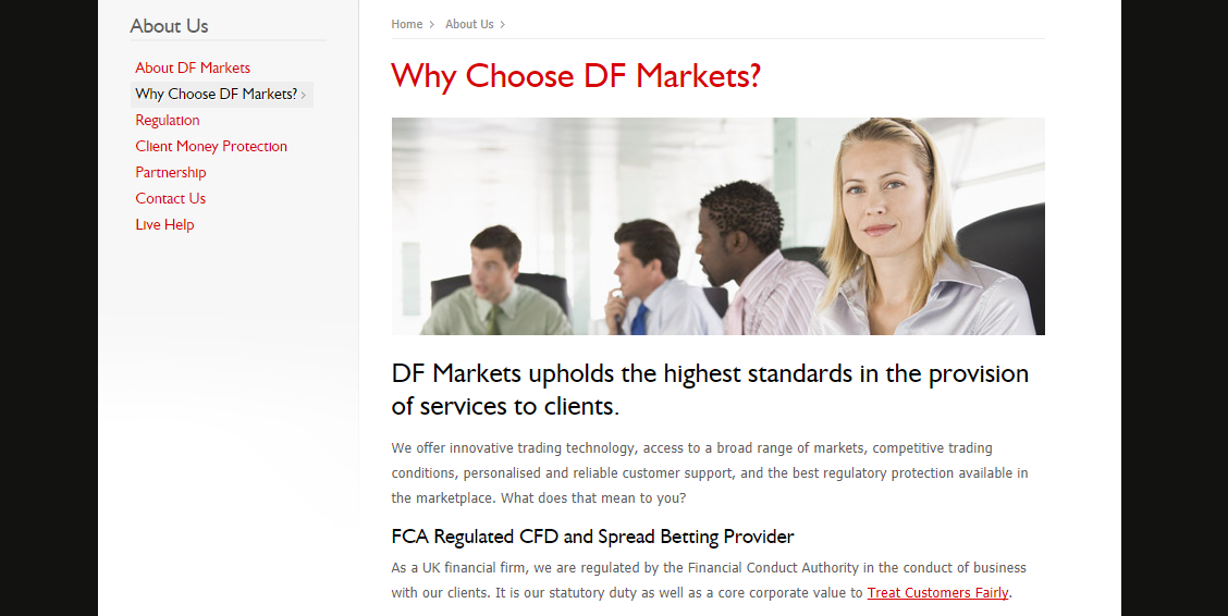 DF Markets Features