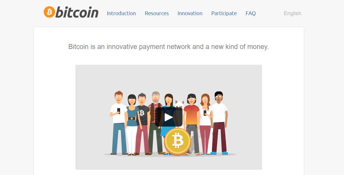 Bitcoin Home Page