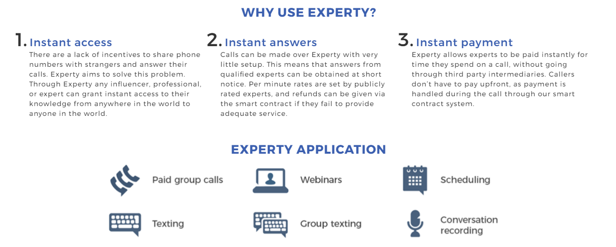 Experty Advantages