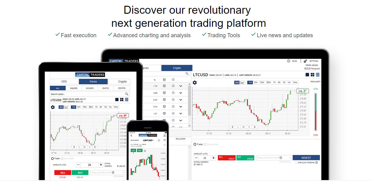 Capital Traders Apps