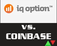 IQ Option vs Coinbase