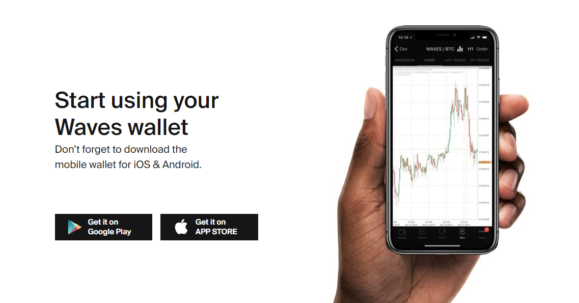 Waves Mobile Wallet