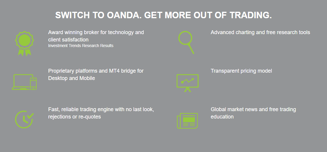 Oanda Features