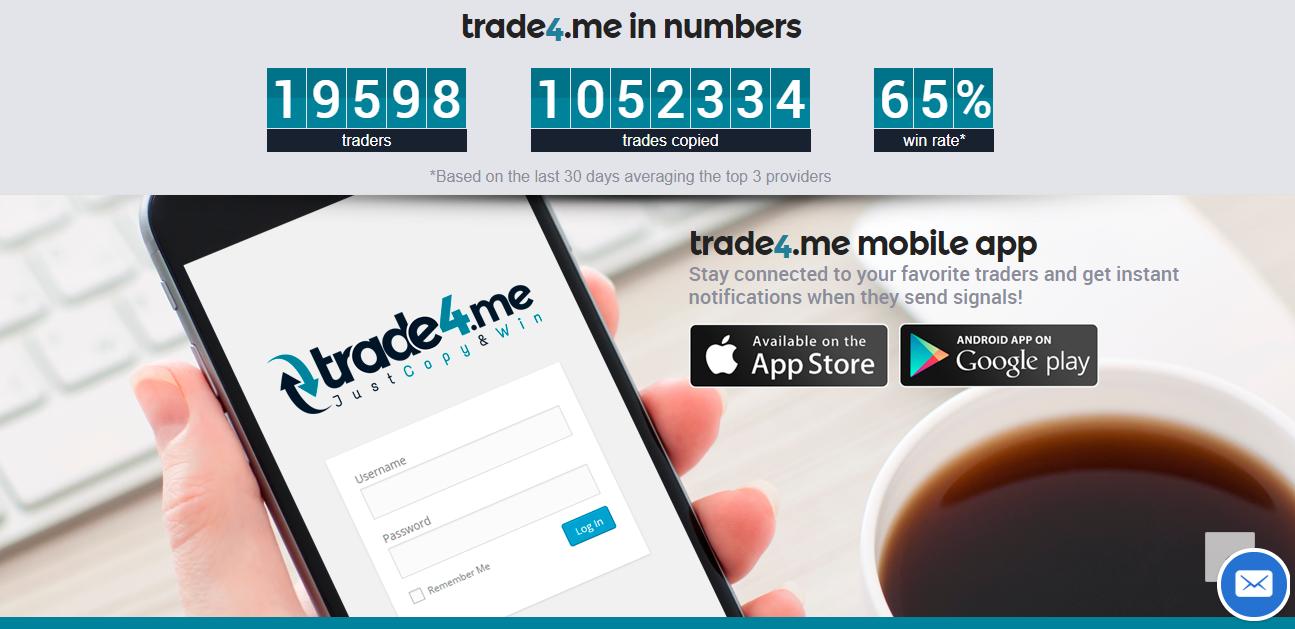 Trade4.me App