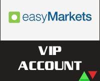 easyMarkets VIP Account